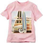 Carter's Knit Tee (Toddler/Kid) - Pink - 3T