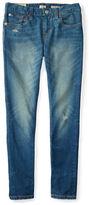 Ralph Lauren Girls 7-16 Washed Denim Jeans