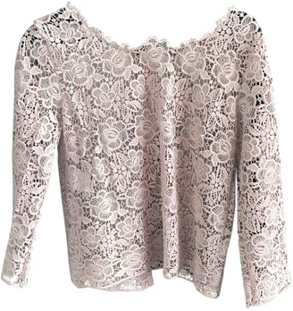 Sand Pink Lace Top for Women