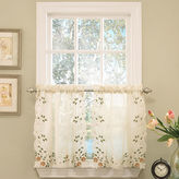 JCPenney Lorraine Rosemary Rod-Pocket Window Tiers