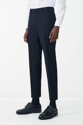Cos Slim-Leg Cotton Poplin Pants