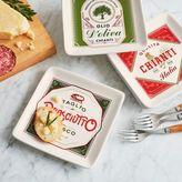 Sur La Table Italian Appetizer Plates, Set of 4