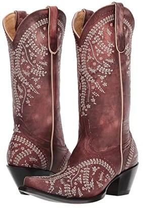 Old Gringo Anya (Cognac) Cowboy Boots