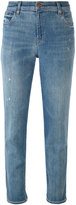 J Brand distresed cropped jeans - women - Cotton/Spandex/Elastane - 24