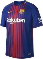 Nike Barcelona 17/18 Home Short Sleeved Shirt