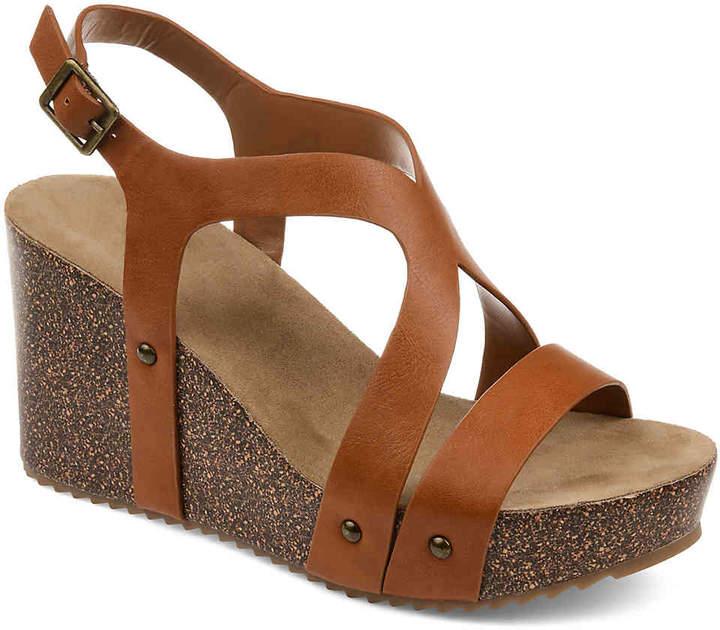 Journee Collection Geneva Wedge Sandal - Women's