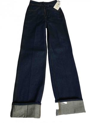 Lemaire Blue Denim - Jeans Jeans