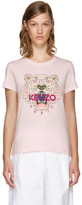 Kenzo Pink Limited Edition Tiger T-shirt