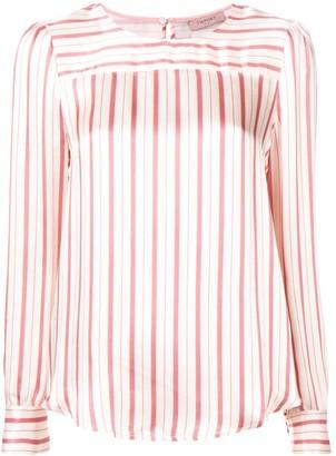 Twin-Set Striped Blouse