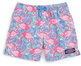 Vineyard Vines Boy's Crab Shell Bungalow Board Shorts