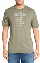 Tommy Bahama Men's 'Checklist' Graphic T-Shirt