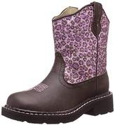 Roper Cheetah Round Toe Chunk Boot (Toddler/Little Kid),1 M US Little Kid
