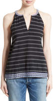 Soft Joie Heather Embroidered Sleeveless Top