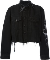 Marcelo Burlon County of Milan Alyssa denim jacket - women - Cotton - S