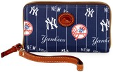 Dooney & Bourke Yankees Zip Around Phone Wristlet