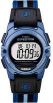 Timex Unisex Expedition Digital CAT Mid-Size Watch, Blue Stripe Nylon Strap