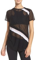 Koral Women's Cross Cut Mesh Tee