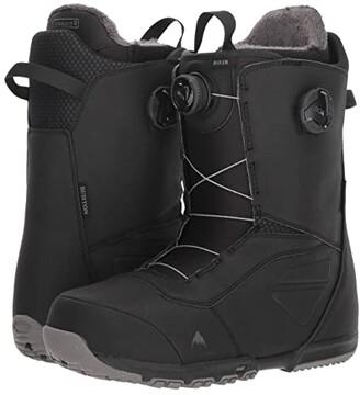 Burton Ruler Boa(r) Snowboard Boot (Black) Men's Cold Weather Boots