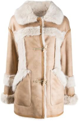 Urban Code Faux-Fur Trimmed Coat