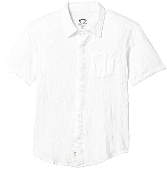 Appaman Adaptive Kids Adaptive VELCRO(r) BRAND Closure Beach Shirt (Little Kids/Big Kids) (White) Boy's Clothing