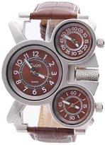 Next New Fashion Men's Analog with 3 Dials Smart Wrist Watch WTH2253