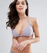 Peek & Beau Macrame Triangle Bikini Top B-F Cup