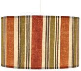Stripe Medium Pendant in Orange