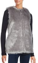Bagatelle Sleeveless Faux Fur Vest