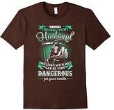 Women's I Belong To My Husband Tshirt Small
