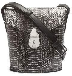 Calvin Klein Snakeskin Printed Crossbody Bag