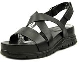 Cole Haan Zero Grand Crisscross Open Toe Leather Platform Sandal.