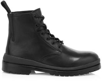 John Varvatos Jarvis Punk Leather Boots
