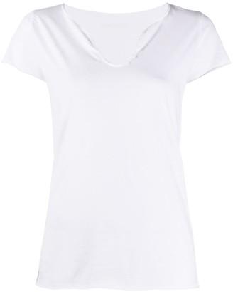 Zadig & Voltaire rhinestone logo T-shirt