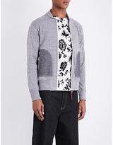Junya Watanabe Marl-effect Cotton Jacket