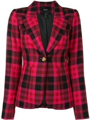 Smythe Tartan Check Blazer Jacket