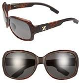 Zeal Optics Women's 61Mm Polarized Plant Based Sunglasses - Black Gloss