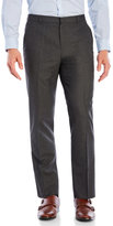 Perry Ellis Tonal Micro Plaid Slim Fit Dress Pants