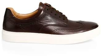 HUGO BOSS Timeless Leather Sneakers