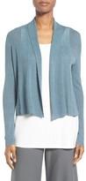 Eileen Fisher Women's Organic Linen Blend Crop Cardigan