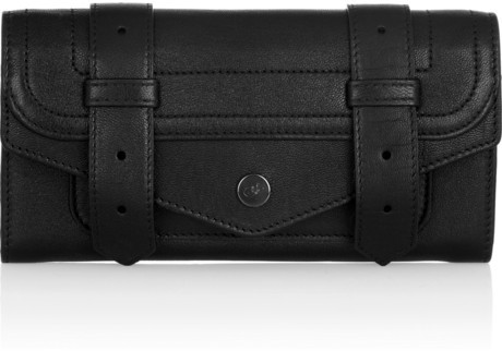 Proenza Schouler PS1 Continental leather wallet