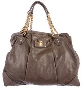 Marc Jacobs Leather Quilted Tote