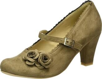 Hirschkogel Women's 3002724 Closed Toe Heels