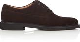 A.P.C. Marron suede oxford shoes