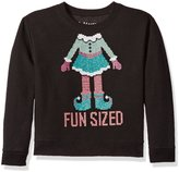 Hanes Big Girls' Ugly Christmas Sweatshirt