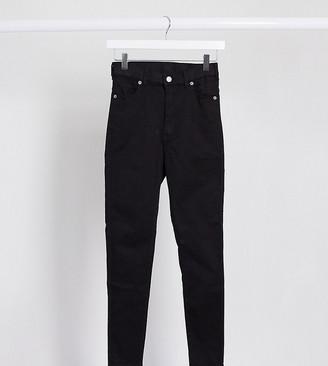 Dr Denim Petite Moxy sky high waist skinny jeans
