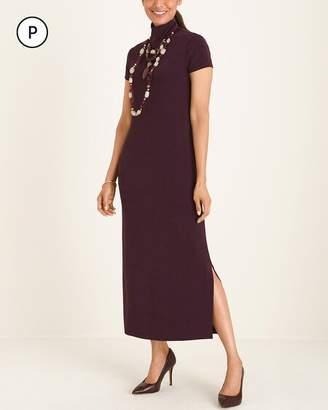 Travelers Classic Petite Mock-Neck Dress