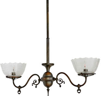 Rejuvenation Refined 2-Light Victorian Pendant