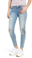 Blank NYC Women's Blanknyc Print Ripped Skinny Jeans