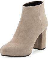 Prada Suede 85mm Ankle Boot, Clay (Agrilla)