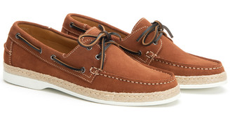 Aquatalia Igor Weatherproof Suede Boat Shoe